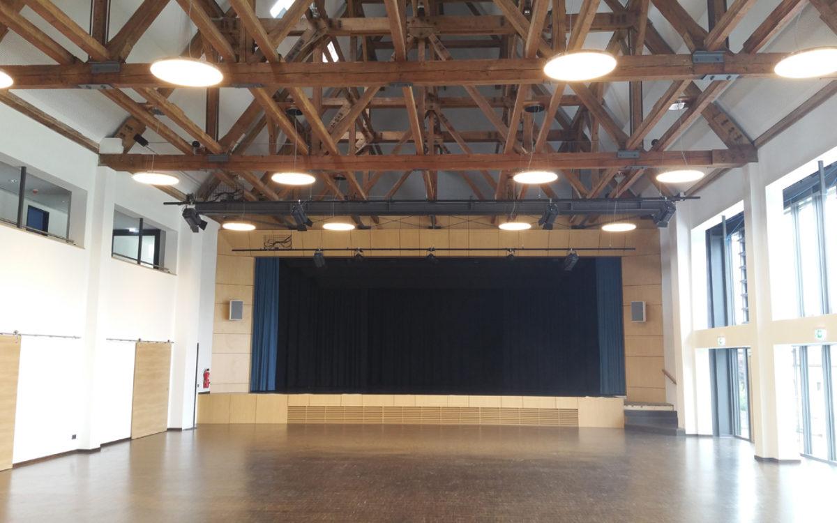 02.07.2016 Festsaal mit Blick zur Bühne