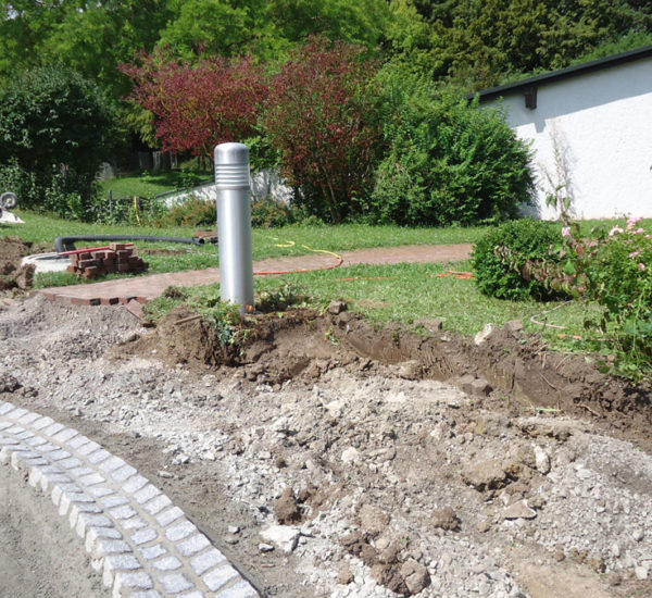 Fröbelschule Ludwigsburg Verkehrswegebauarbeiten