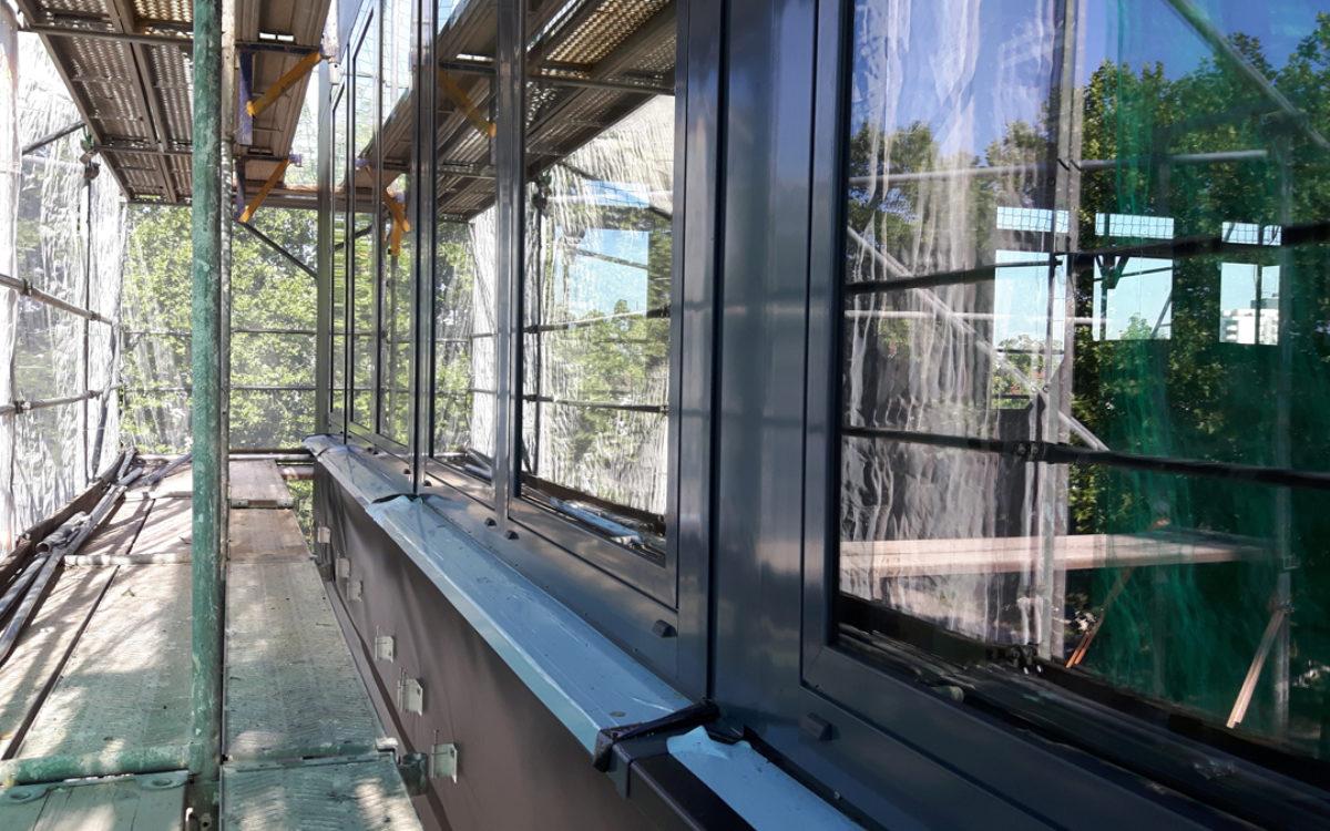 26.08.2016 Fensterfront Südseite
