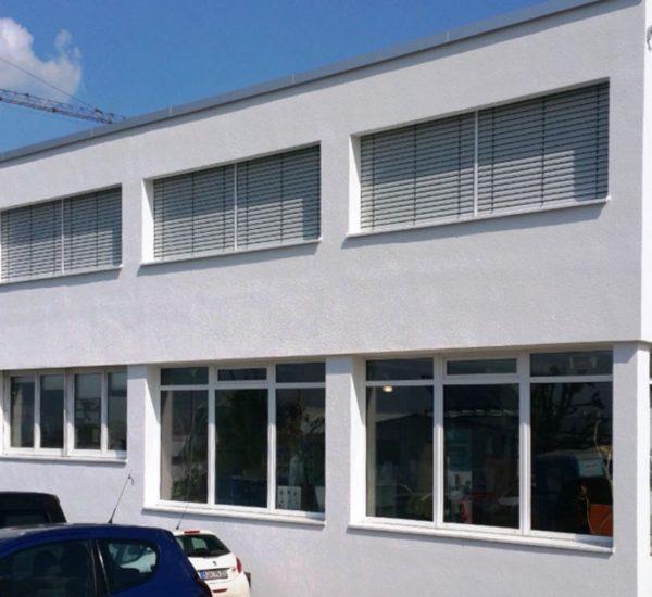 Sanitätshaus Gross Aufstockung Gebäude
