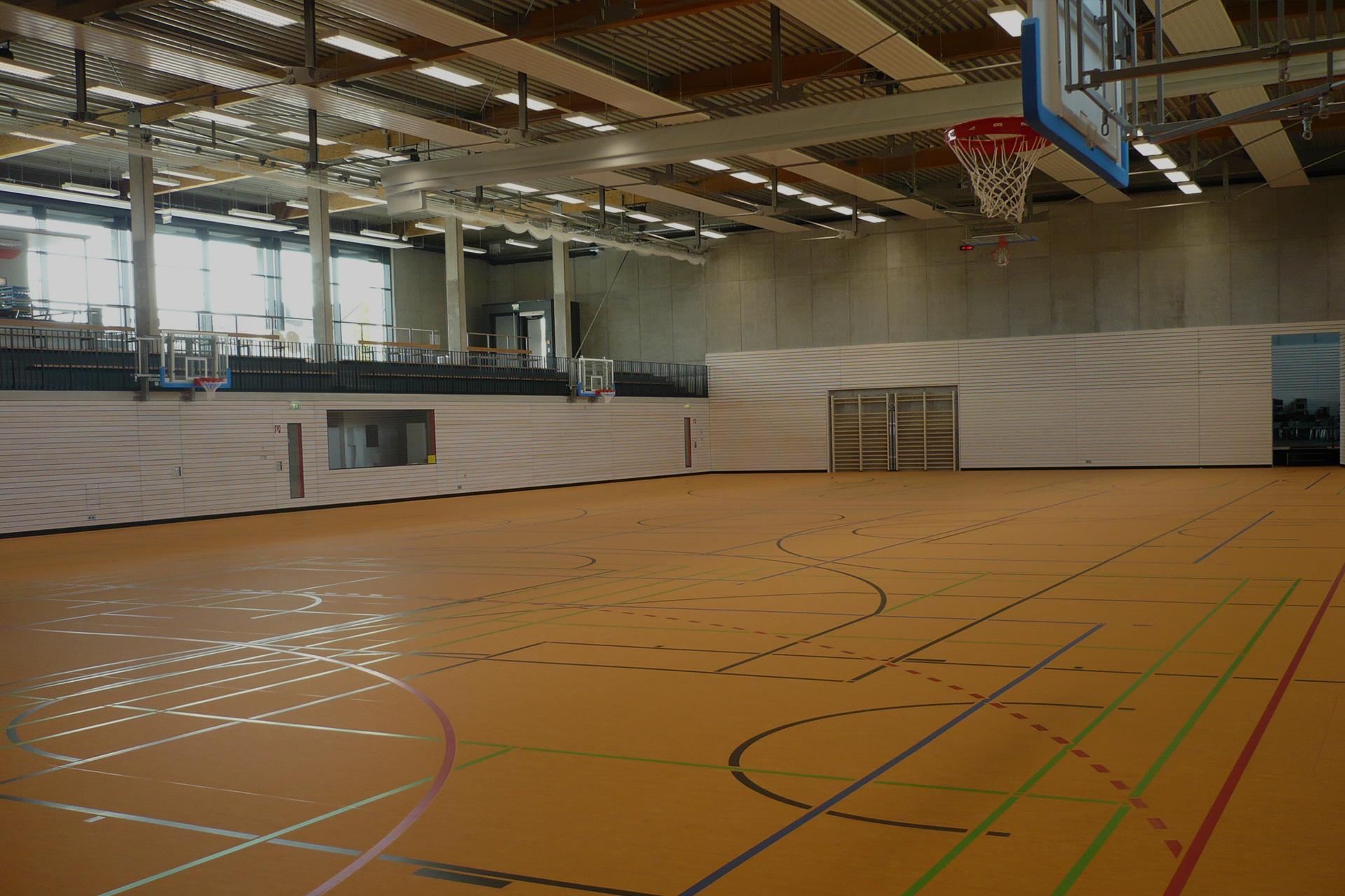Individuelle Sporthallenkonzepte