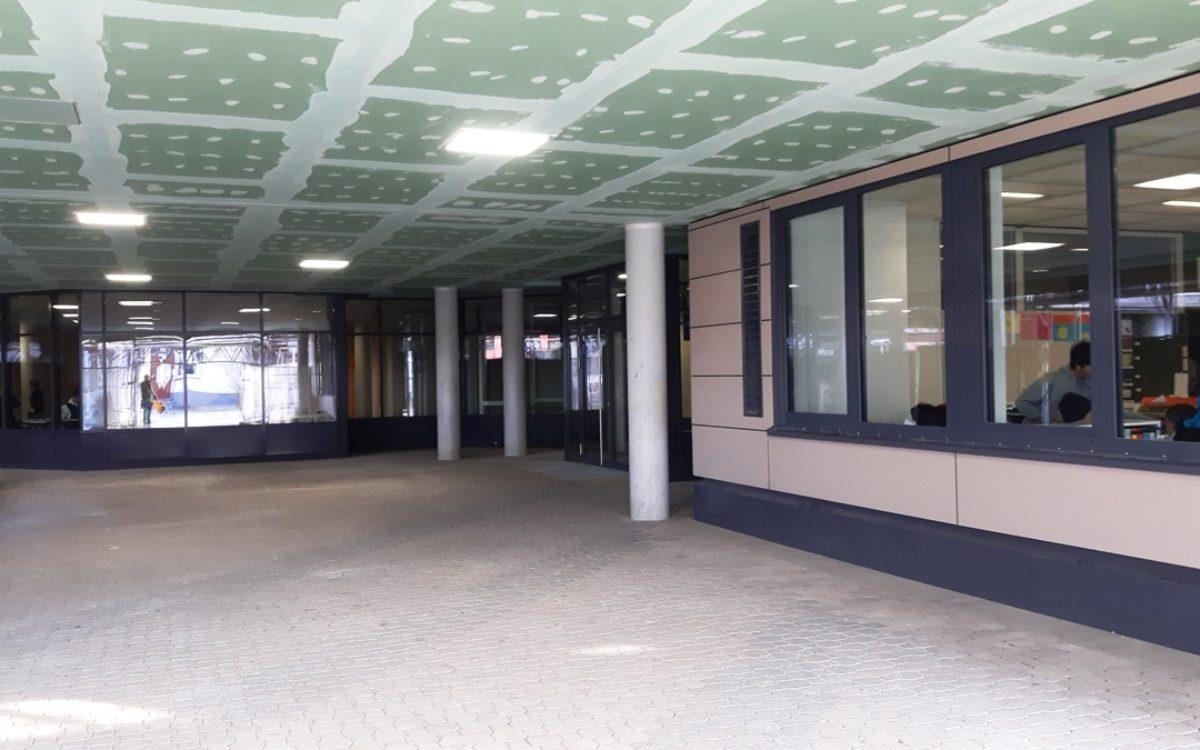 12-02-2018 Eingangsbereich Südseite