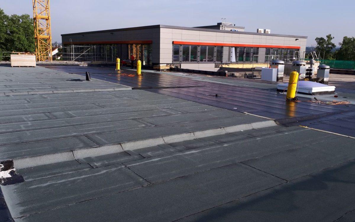 28-05-2018 neuer Dachaufbau Decke 1.OG