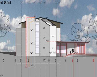 Landessportschule Ruit Sanierung Waldhaus