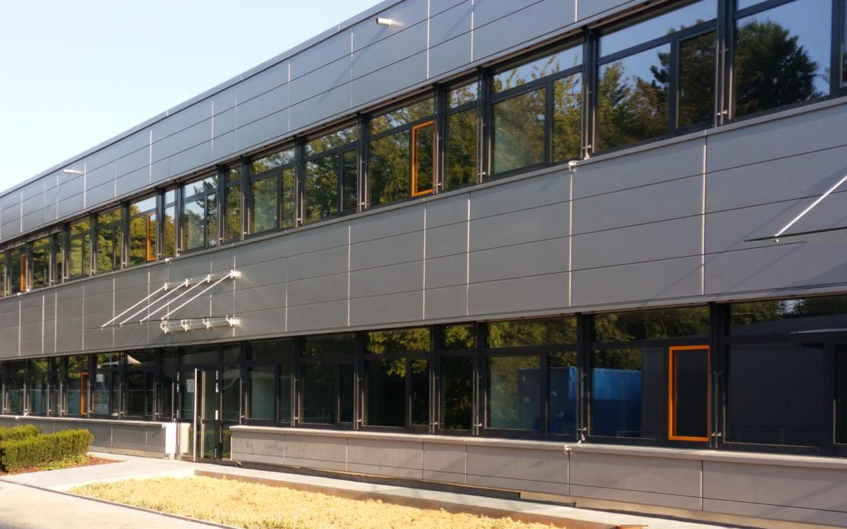 22-08-2018 Fertigstellung Fassade Bauabschnitt 2-4