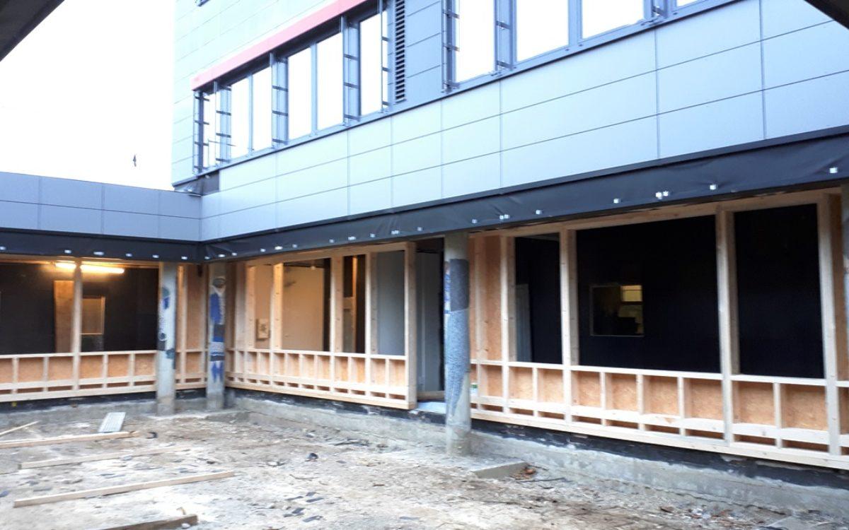 31-01-2019 Fassadensanierung Innenhof