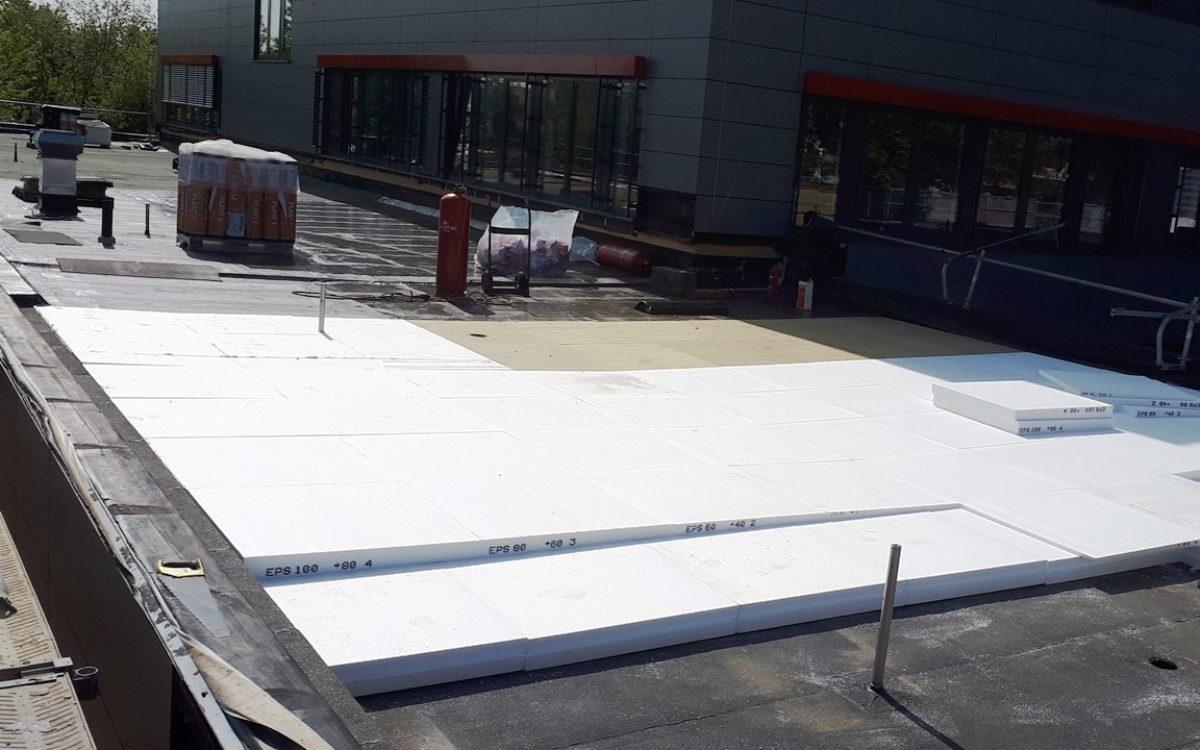 24-05-2019 Verlegung der Dachdämmung