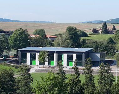 Eberstadt Neubau Gemeindehalle