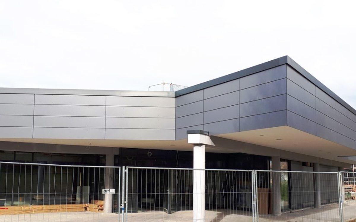 04-03-2020 Fertigstellung Fassadenarbeiten Ostseite