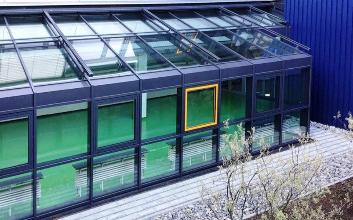 27-03-2020 Innenhof mit Wintergarten