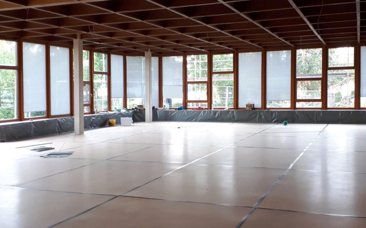 23-09-2020 Bodenschutzarbeiten Festsaal