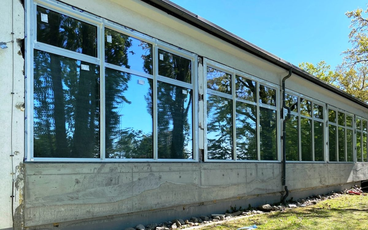 2020-10-27 neue Glasfassade