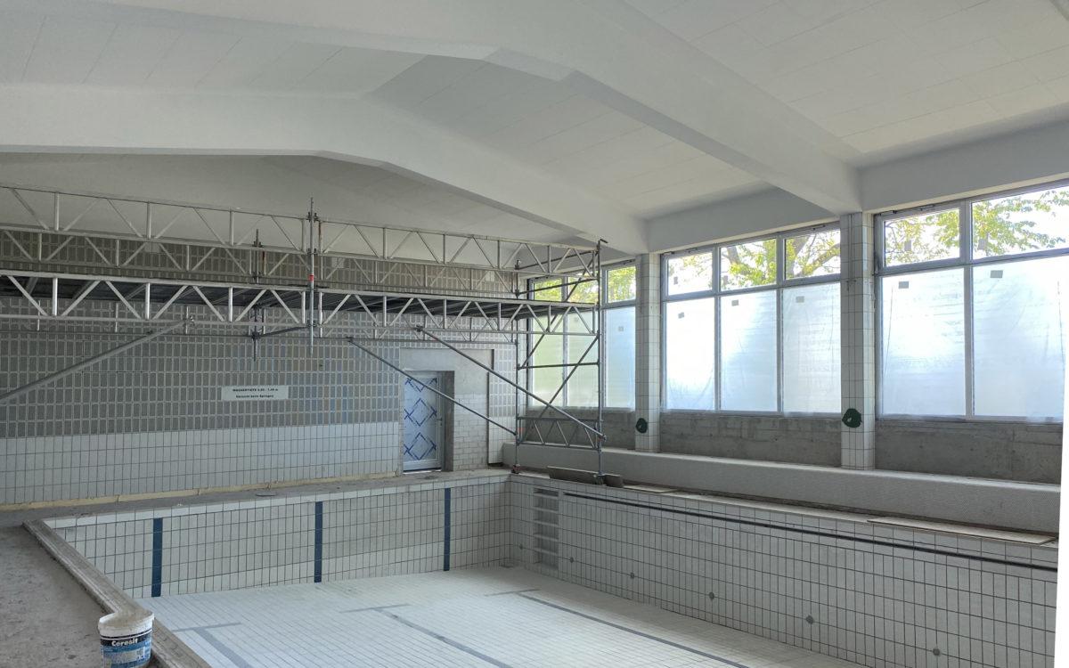 2020-10-27 Schwimmhalle in Arbeit