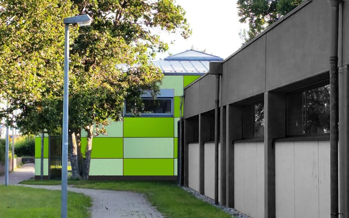 2021-02-09 Gymnastiksaal Owen neue Fassade