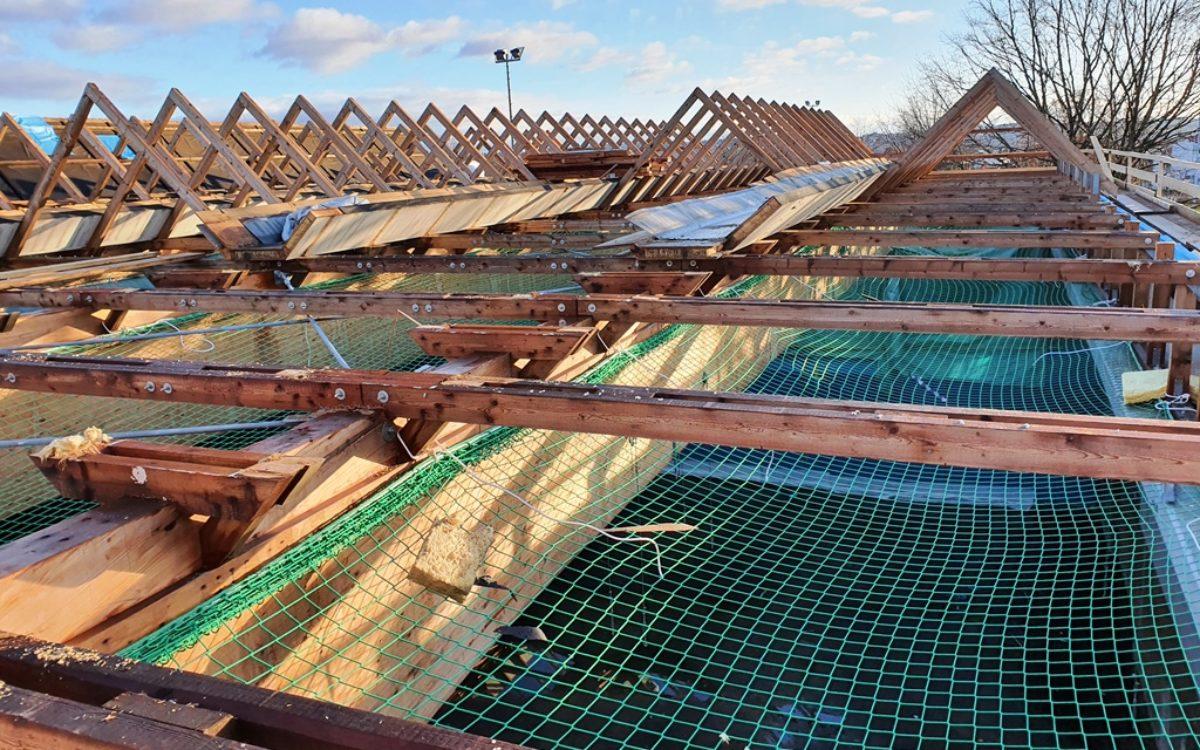 2021-02-16 Dacharbeiten