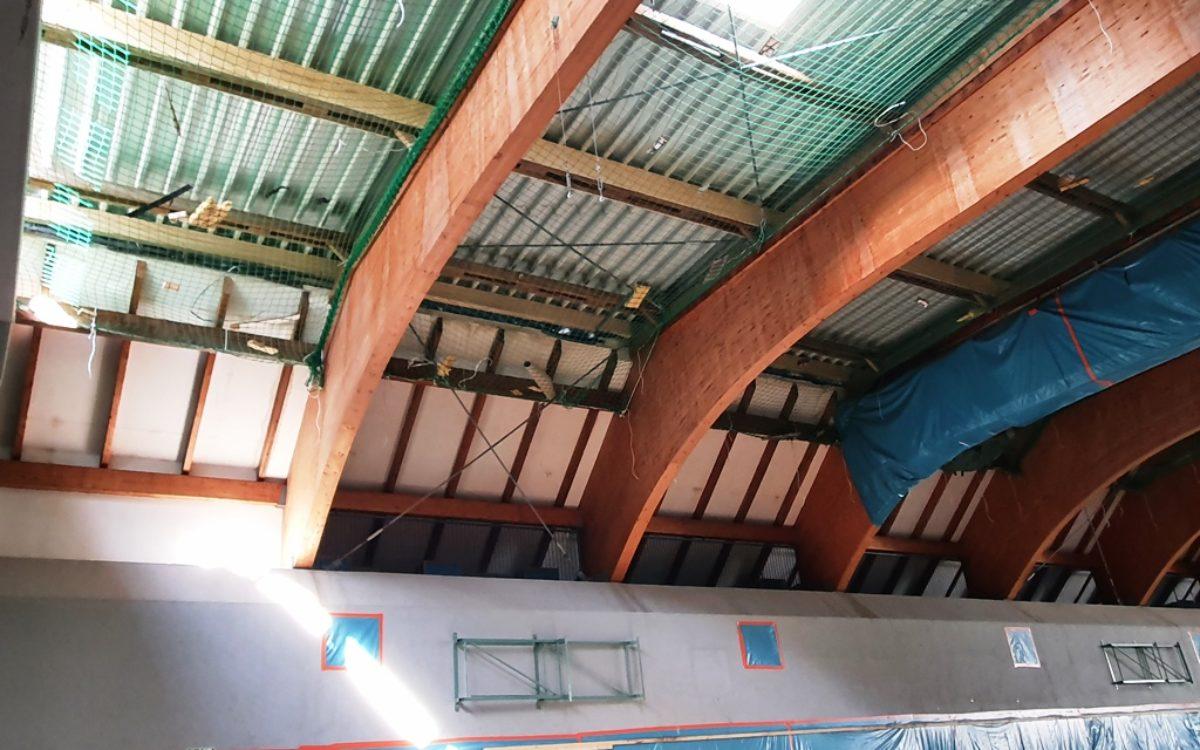 2021-04-28 Neues Dach Ansicht von innen