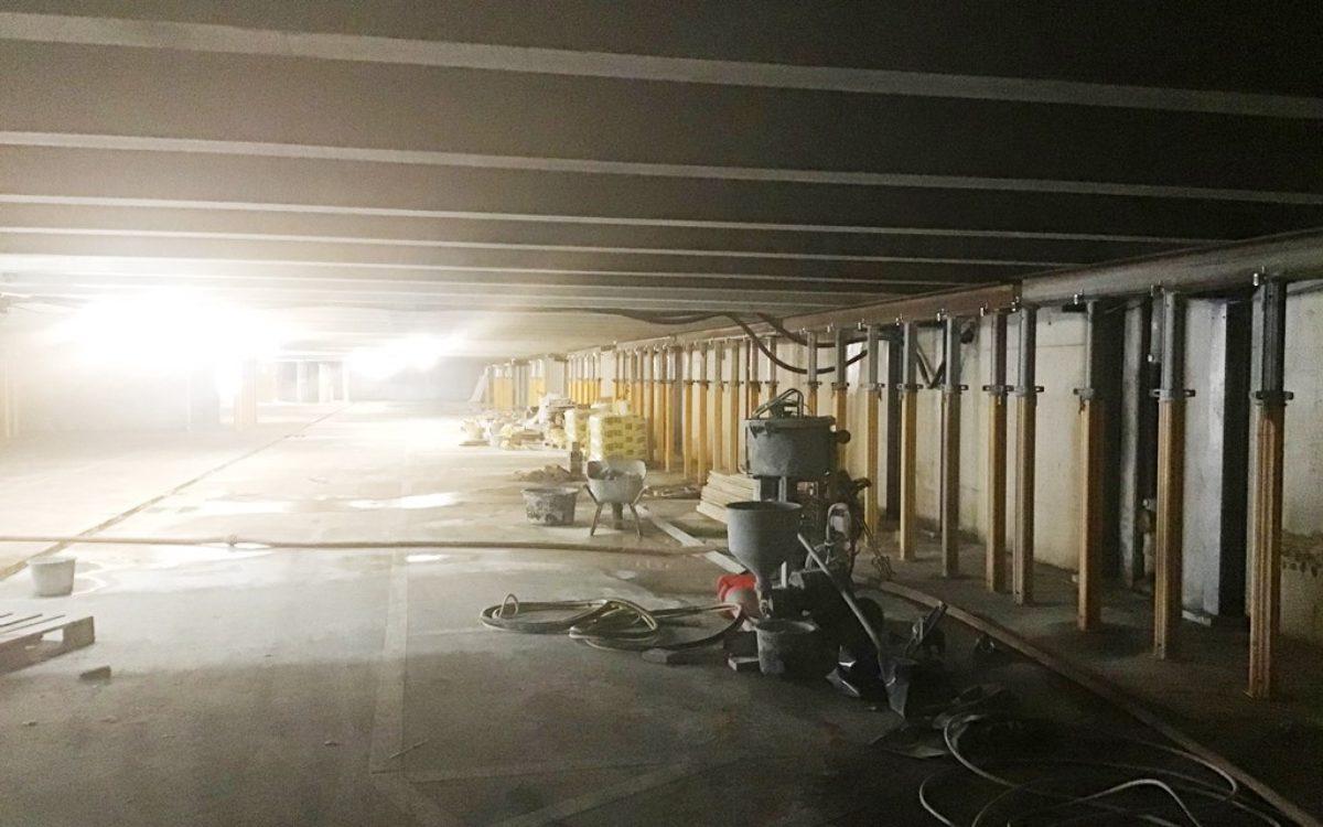 2021-04-29 Sanierung Parkgarage